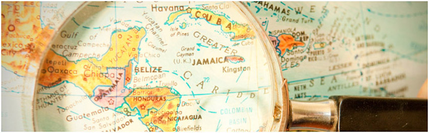 Banner - Map of Belize